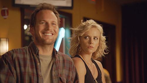 Buddy (Patrick Wilson) and Mavis (Charlize Theron
