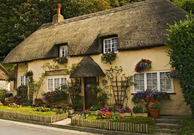 Cottage at West Lulworth, Dorset