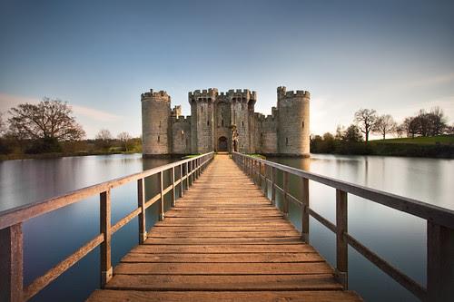 Bodiam Castle por Fotosia