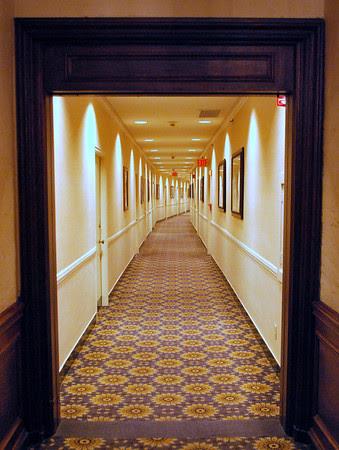 Mezzanine Level Hallway