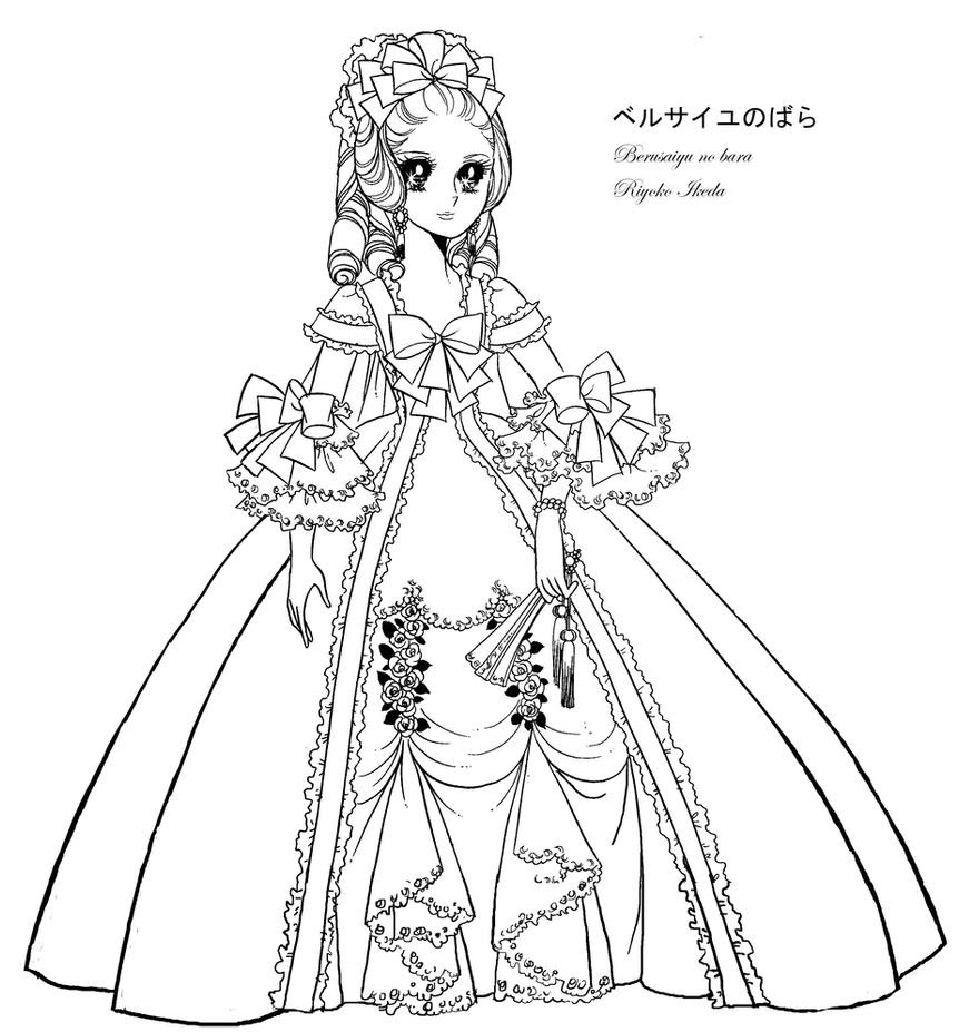 Dessin De Fille Manga En Robe De Mariée Dessin De Manga