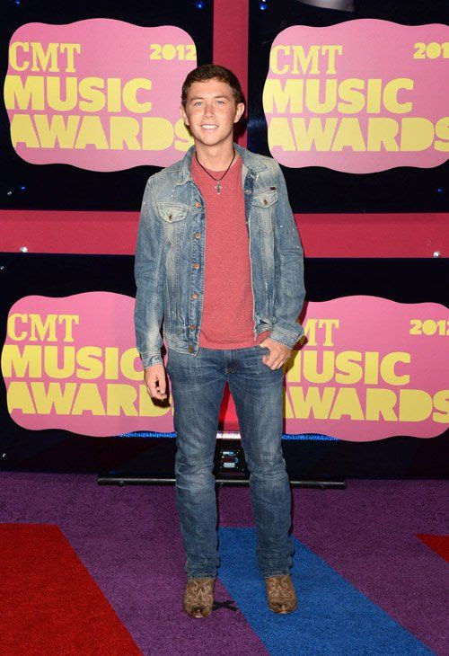 2012 CMT Awards in Nashville, TN - June 6, 2012, Scotty McCreery