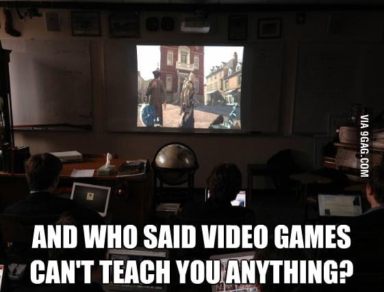 Assassin's Creed: ¿Quién dijo que los videojuegos no pueden enseñarnos nada?