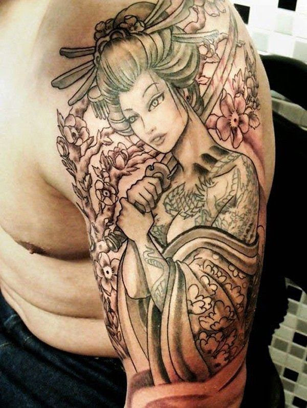 46 Geisha Tattoos The Allure And Meanings Tattoos Win