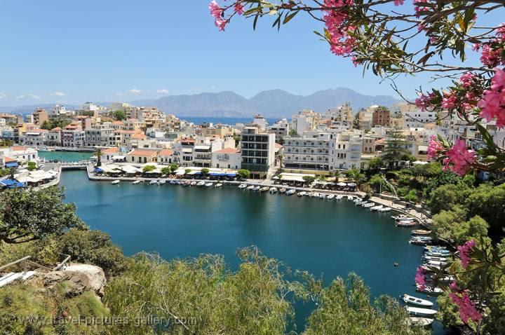 the port of Agios Nikolaos