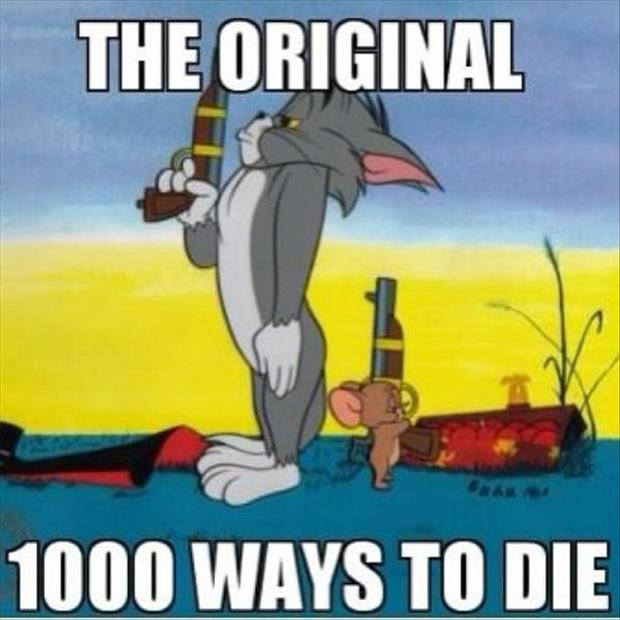 The Original 1000 Ways To Die Tom And Jerry Dump A Day
