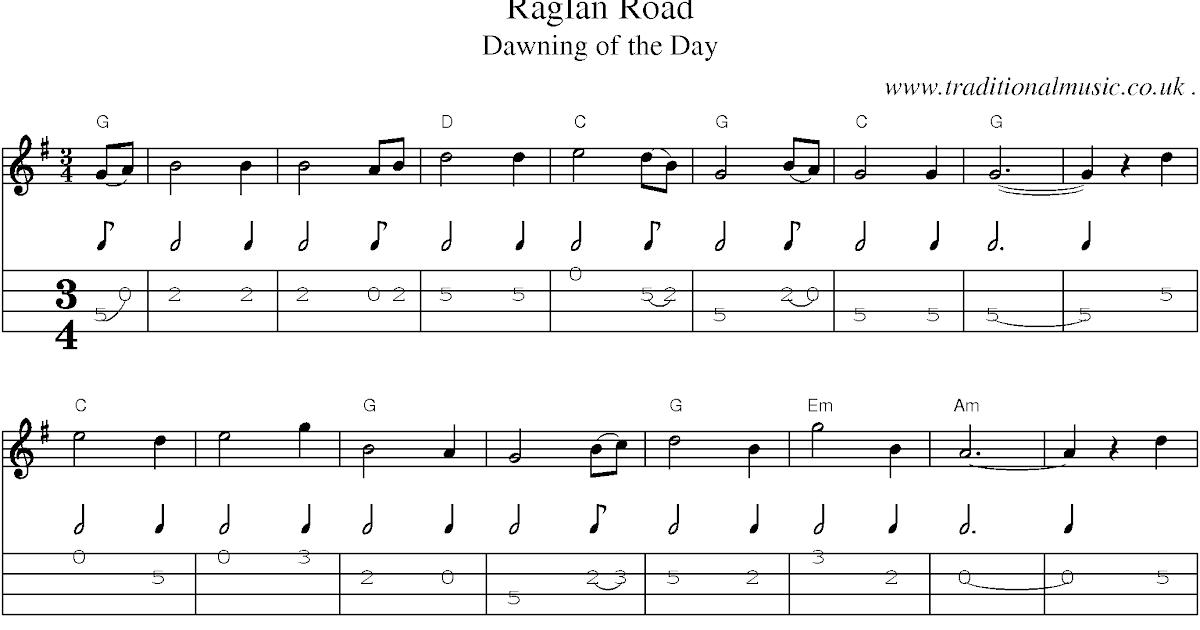 Robert Frosts Banjo On Raglan Road
