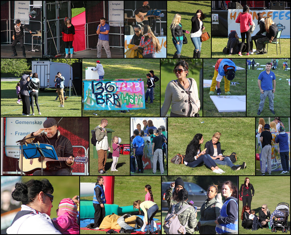 Haninge Festival Collage