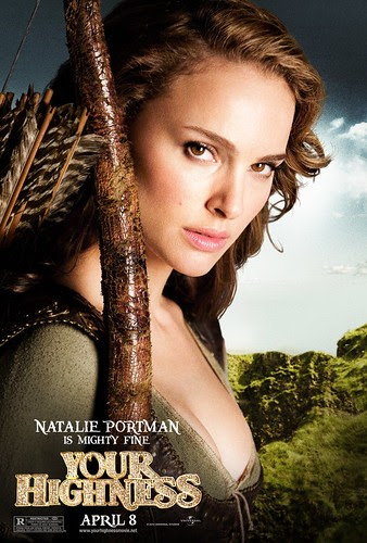 YOUR HIGHNESS (Natalie Portman movie poster)