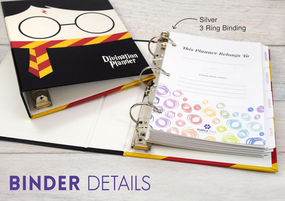 Introducing A 3 Ring Planner Binder Purpletrail Plannersphoto Album