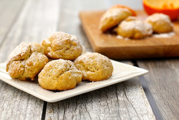 Karen's Kitchen Stories: Triple Orange Mexican Cookies - Polvorones de Naranja