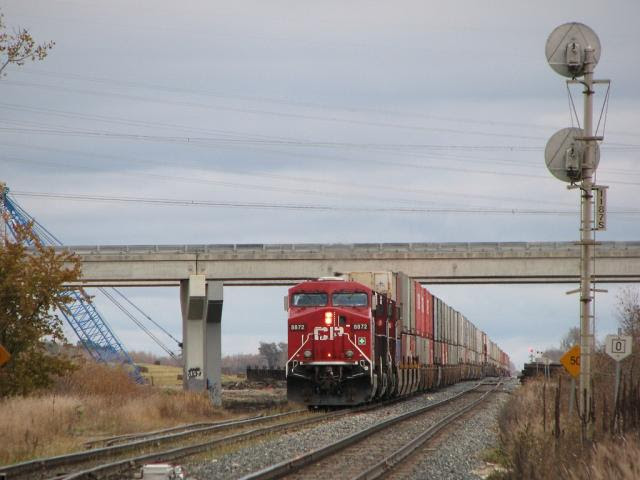 CP 8872 in Winnipeg