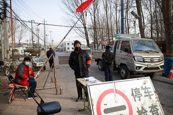 China Places Over 22 Million on Lockdown Amid New Covid Wave