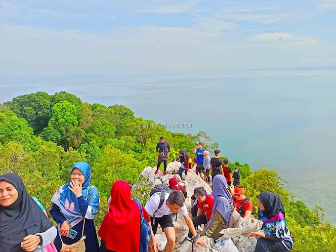 Pengalaman Hiking di Bukit Batu Putih, Port Dickson