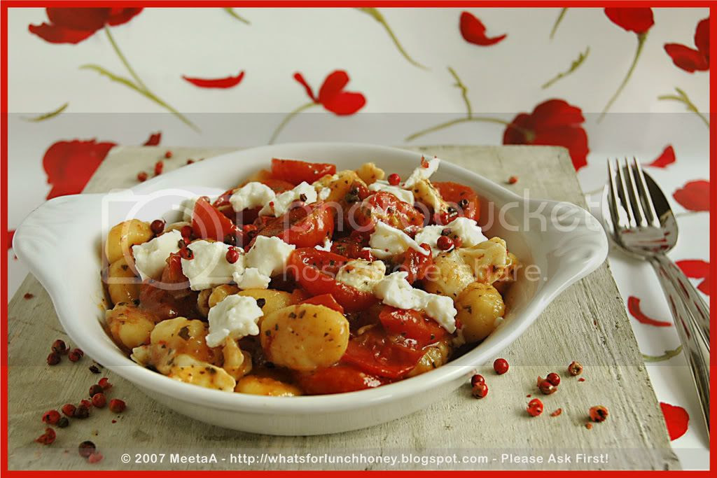 Caramelized Tomatoes Gnocchi (05) by MeetaK