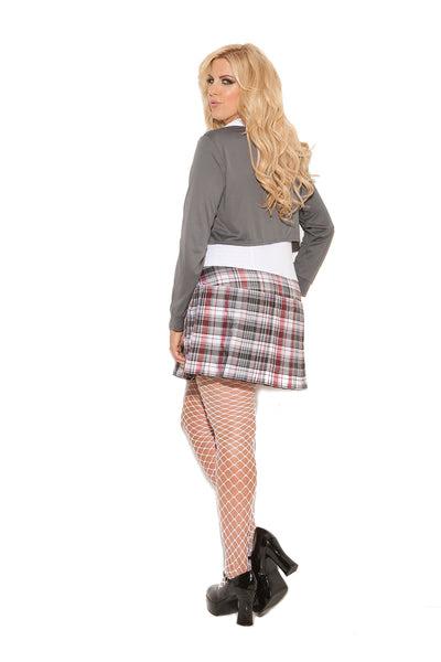 sexy plus size queen of detention school girl halloween