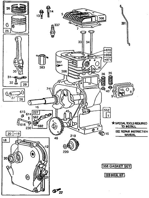 BRIGGS & STRATTON 5 H.P. CHIPPER-SHREDDER Parts | Model