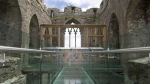 oystermouth-castle-interior