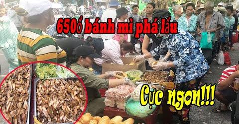 Đổi món cơm có thịt, Cường 3 Cu phát bánh mì phá lấu cực ngon cho bệnh nhân nghèo