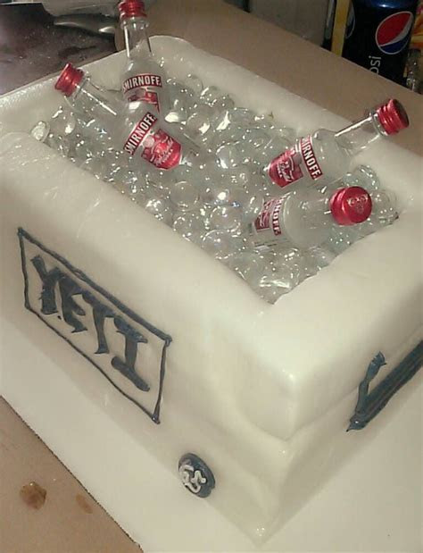 Yeti cooler cake   Cake: Wedding Cakes (and cupcakes) I