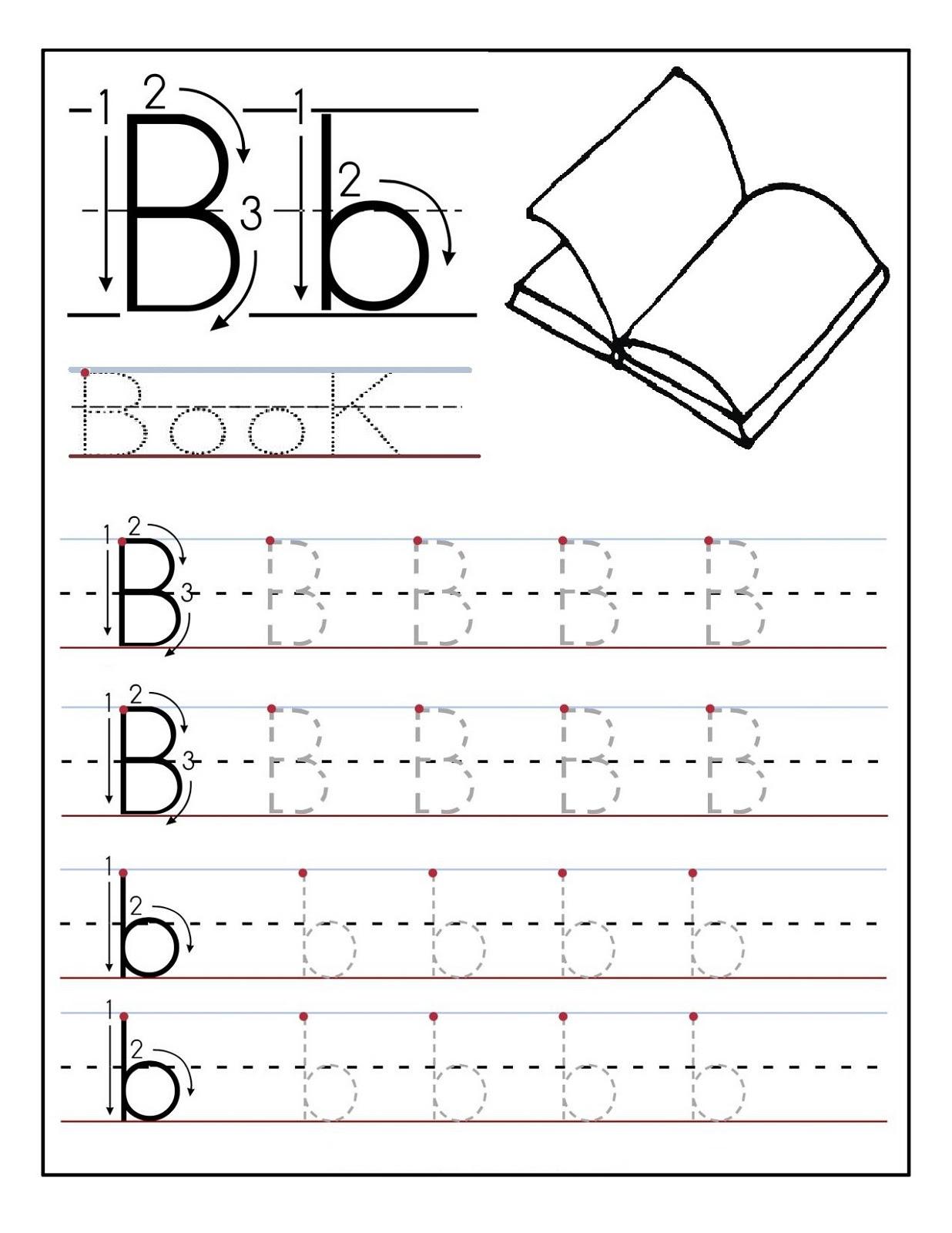 preschool alphabet worksheets book