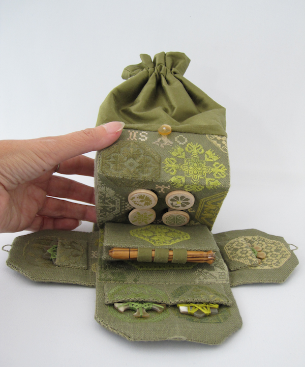 Sewing Bag Open
