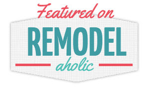I was featured on Remodelaholic