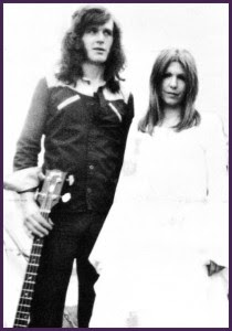 Annie Haslam and John Wetton in 1971