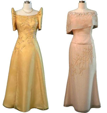Filipinianas.com   Filipiniana Gowns and Dresses