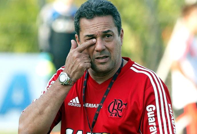 Vanderlei Luxemburgo Treino Flamengo (Foto: Cezar Loureiro / Agência O Globo)
