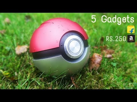 5 Cool Technology GADGETS in REAL  Technologypk