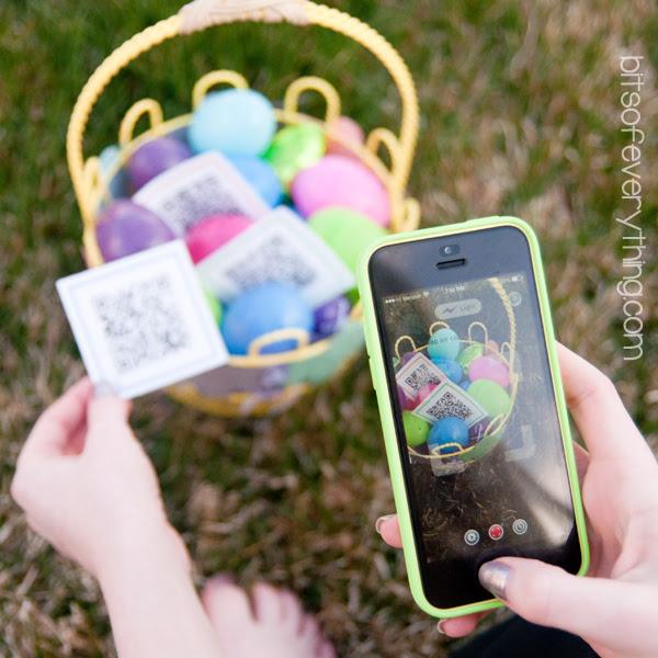 Smart Phone Easter Egg Hunt For Older Kids Bits Of Everything