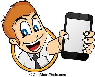 Image result for cartoon handphone
