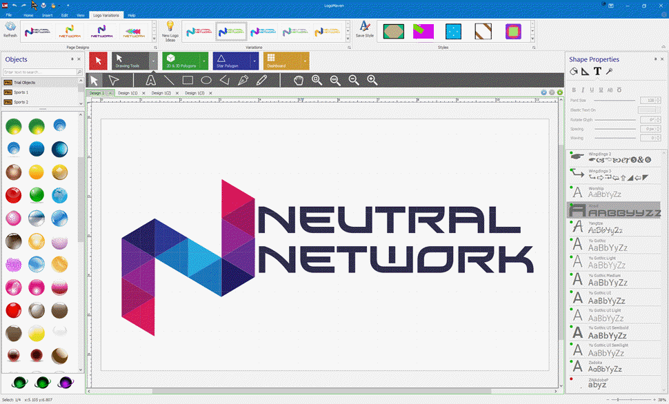 JetA Logo Creator - Free Logo Software