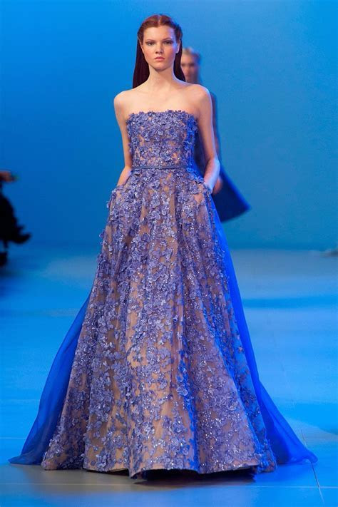 ELIE SAAB HAUTE COUTURE OPENED HIS FIRST LONDON FASHION