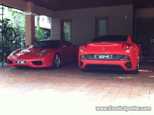 Ferrari California spotted in Kuala Lumpur, Malaysia on 08 ...