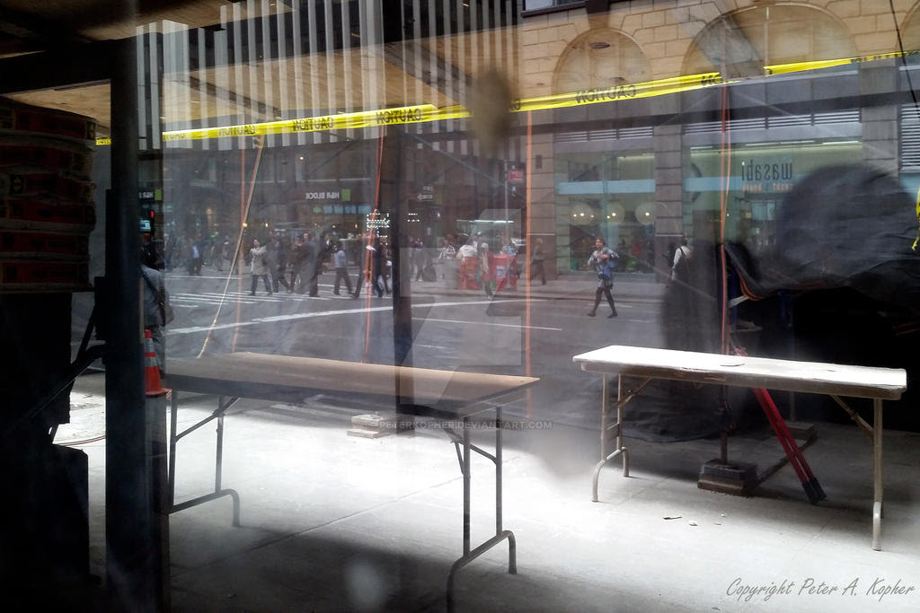 Fashion Avenue Reflected by peterkopher