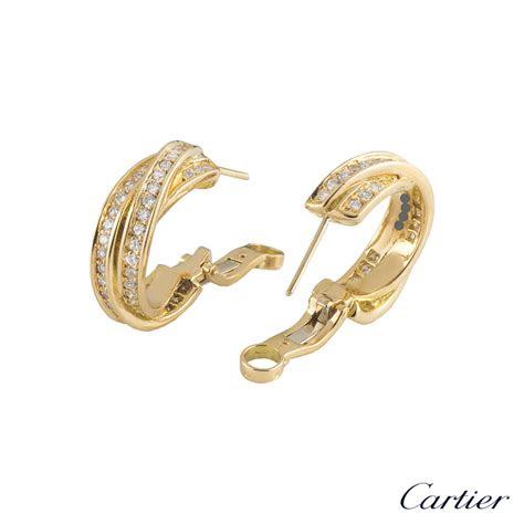 cartier trinity de cartier earrings