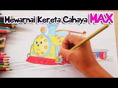 Ajak Anak Membuat Video Proses Mewarnai Gambarnya di Kertas
