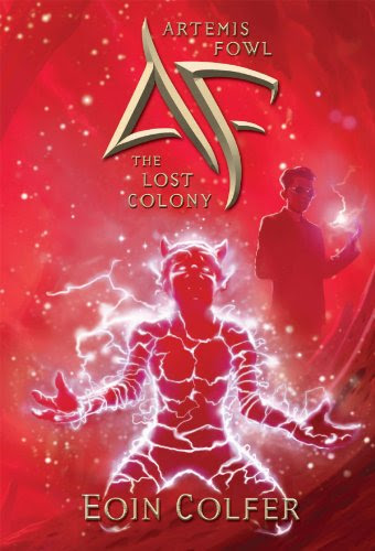 Book Review: The Lost Colony (Artemis Fowl, Book 1), By Eoin Colfer Cover Art