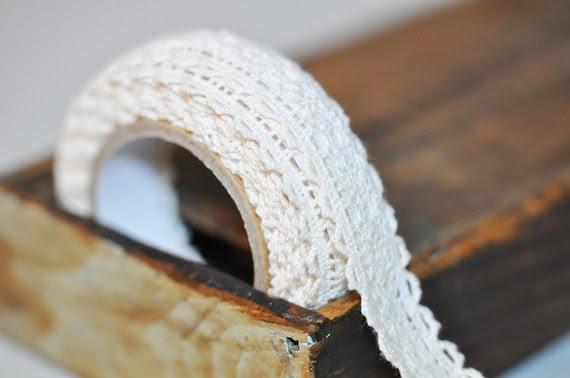 Self Adhesive Cream Lace tape