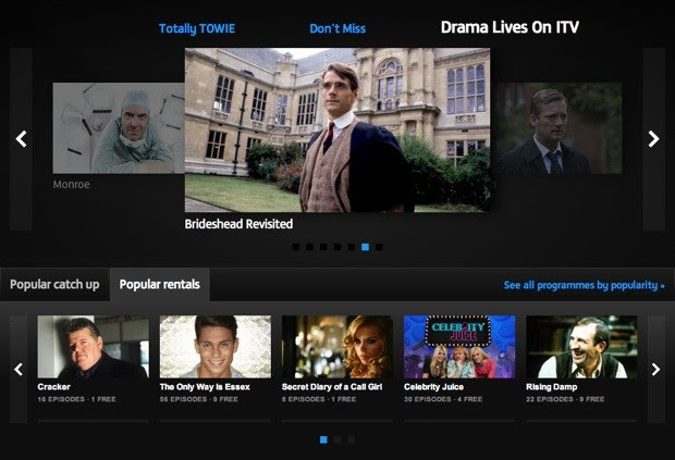 ITV Player revamp brings adfree TV rentals, keeps the free catchups