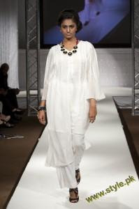 Latest Party Wears Dresses By Rizwana At PFW UK 2011 5 style.pk