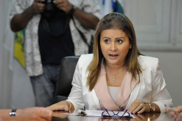 Micarla de Sousa foi uma das pessoas que recebeu pagamentos em duplicidade e não devolveu à Prefeitura