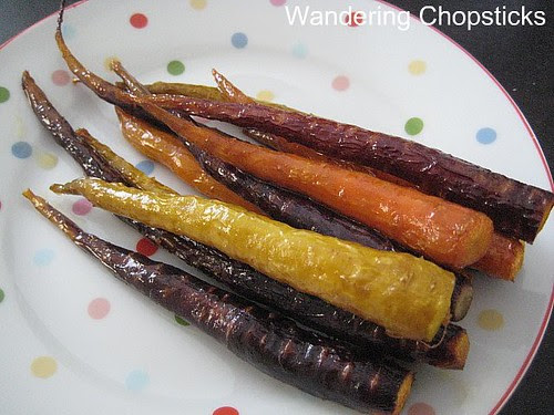 Roasted Tri-Colored Carrots 4