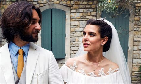 Grace Kelly's granddaughter Charlotte Casiraghi marries