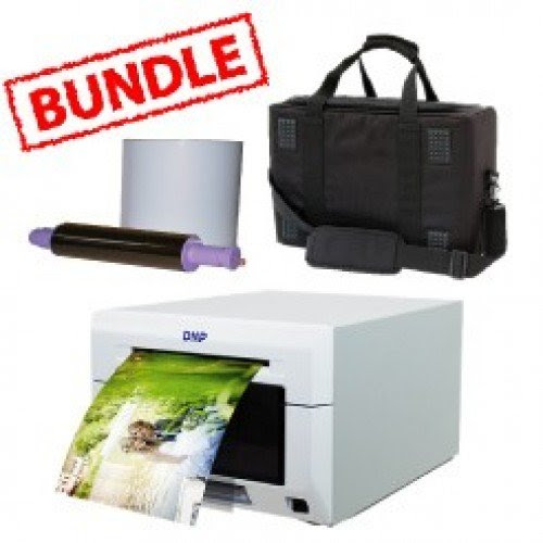 Dnp Ds620a Printer Ds 620a Media Roll And Soft Carry Case Bundle