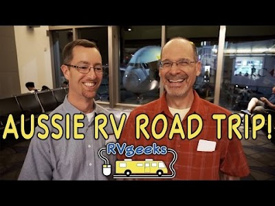 The RV Geeks are going to Australia!