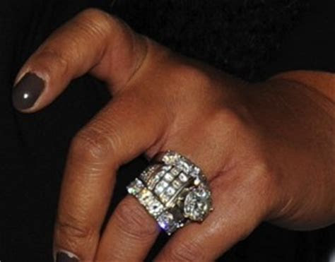 You may want to read this: Wendy Williams Wedding Ring