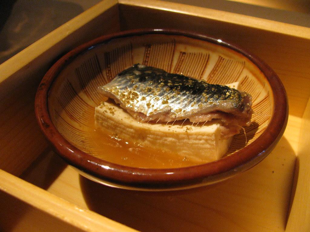 iwashi & tofu